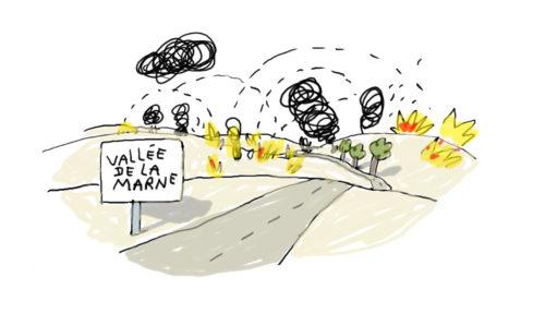 vallée de la marne - Grande Guerre - 1914-18