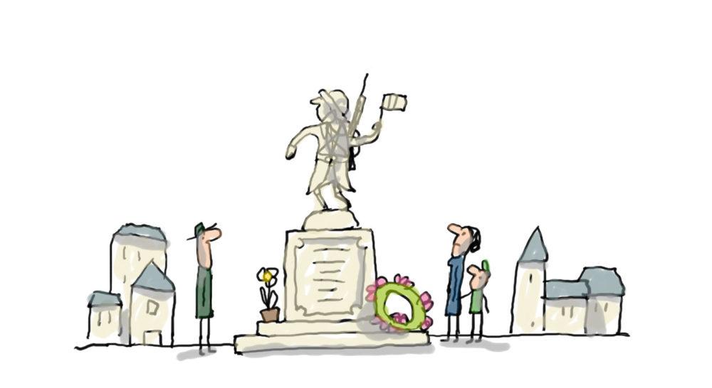monument aux morts - première guerre mondiale