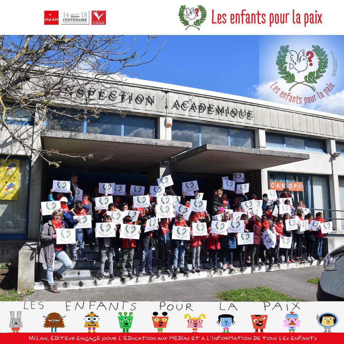 enfants pour la paix - Amiens